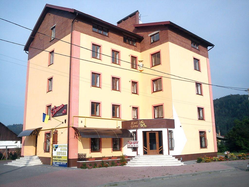 Багатоквартирний будинок у м. Сколе.